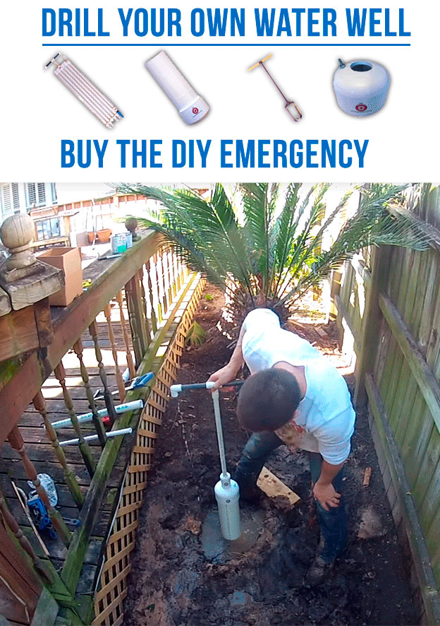 Emergency Water Well: DIY Water Well Kits & Hand Pumps