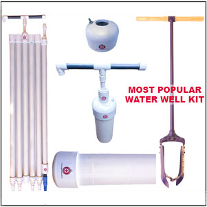Large Bore DIY Water Well Kit
